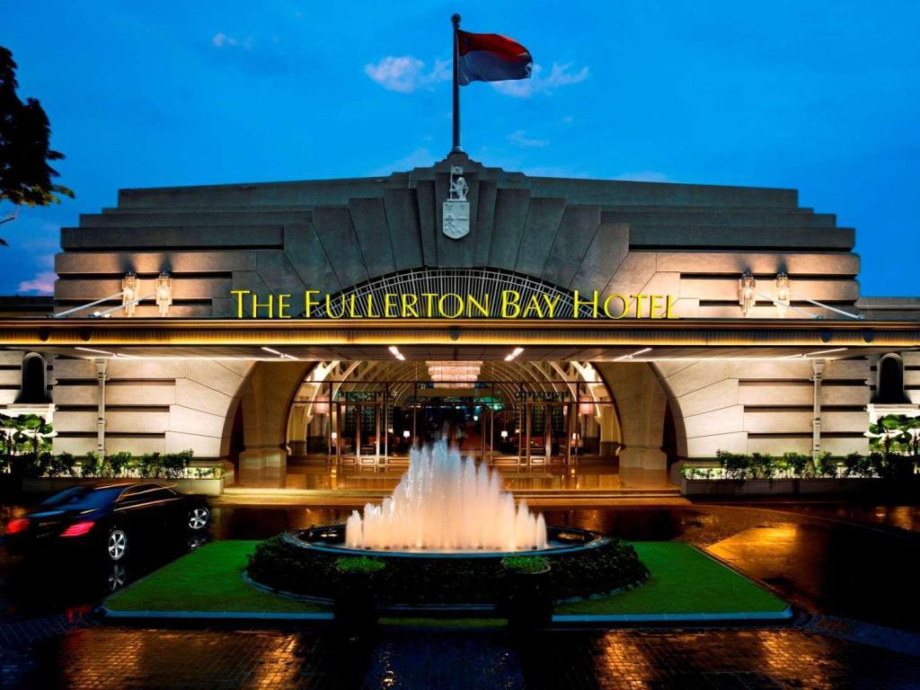 khách sạn sang trọng tại singapore