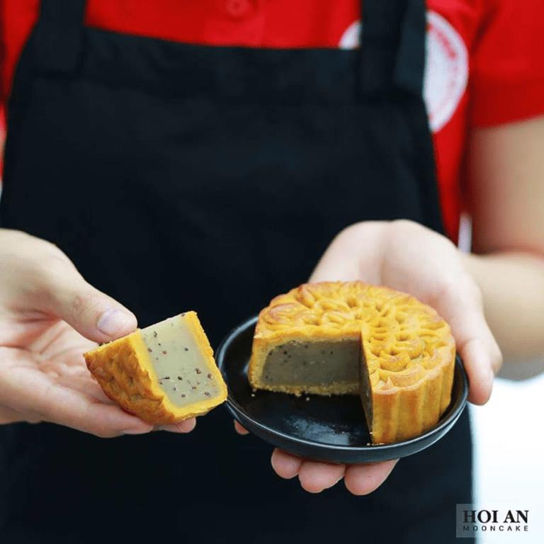Bánh nướng macca - hạt sen - hạt chia (chay)